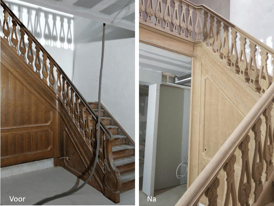 luchtgommen trap